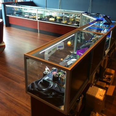 e-cig display