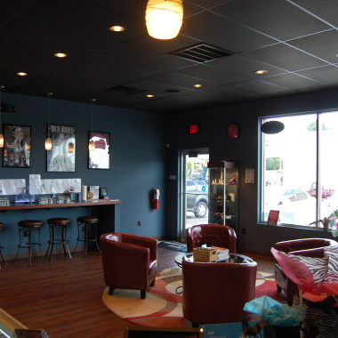 picture of vaping lounge