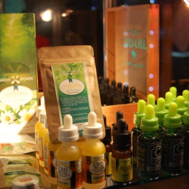 Photo of CBD products